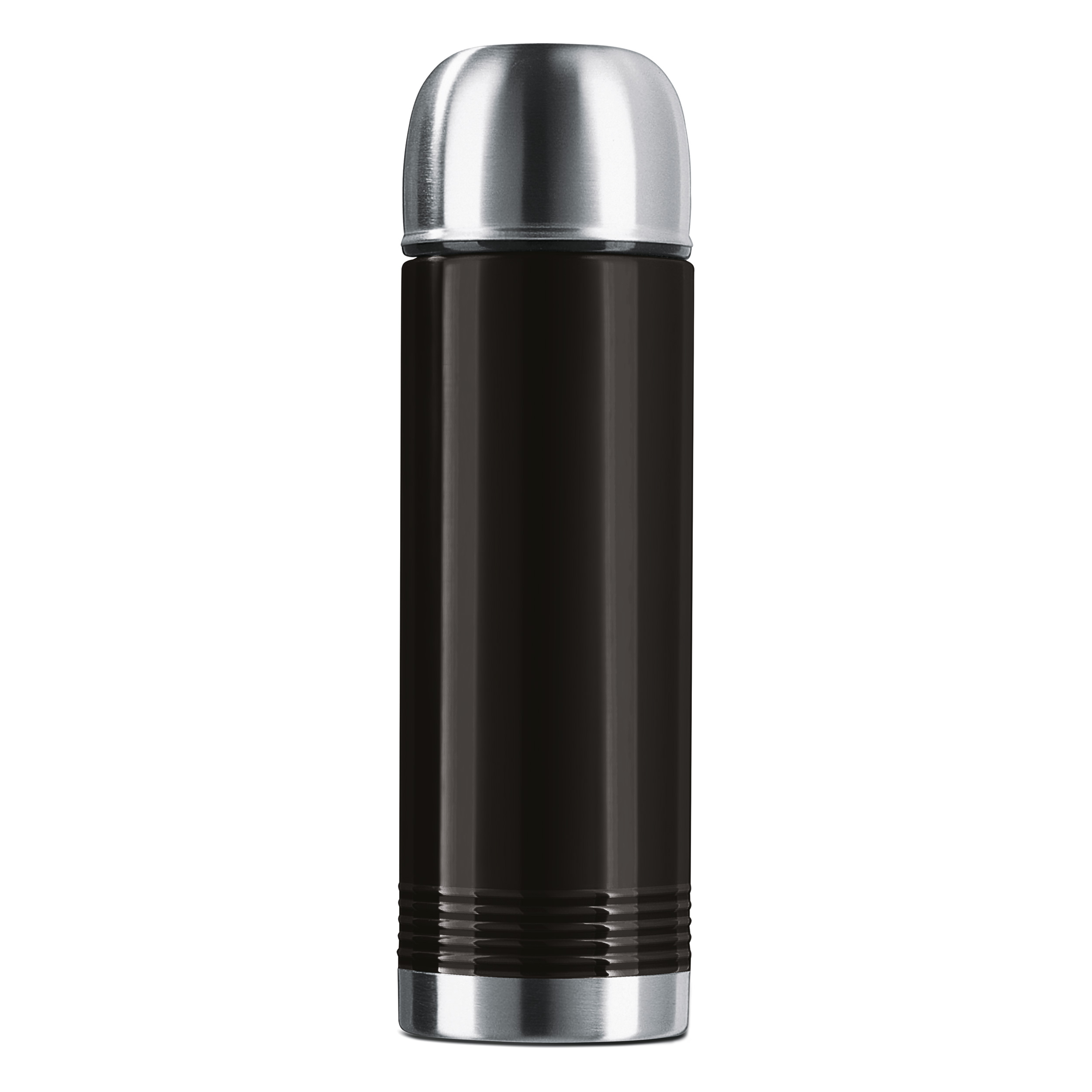 Термос SENATOR 0,7л черныйТермос изготовлен из высококачественной нержавеющей стали. Он отлично держит температуру вашего напитка в течение длительного времени. Вы сможете взять свой напиток с собой в дорогу и пить его где бы вы не находились. Термос герметичен и на 100% экологически безопасен.<br>