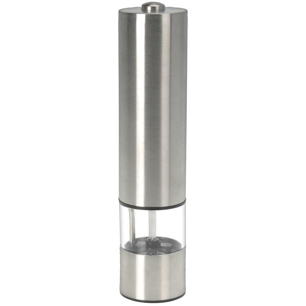 Мельница д/специй электр. d5 h22 сммельница для специй, диам. 5 см, выс. 22 см, работает от батареек 4хАА (не входят в комплект)<br>