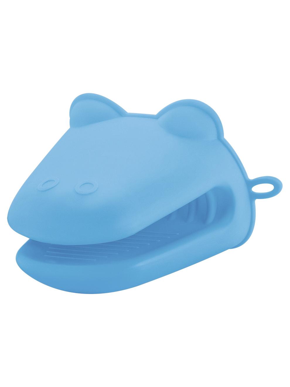 Прихватка силиконовая Guffman голубая