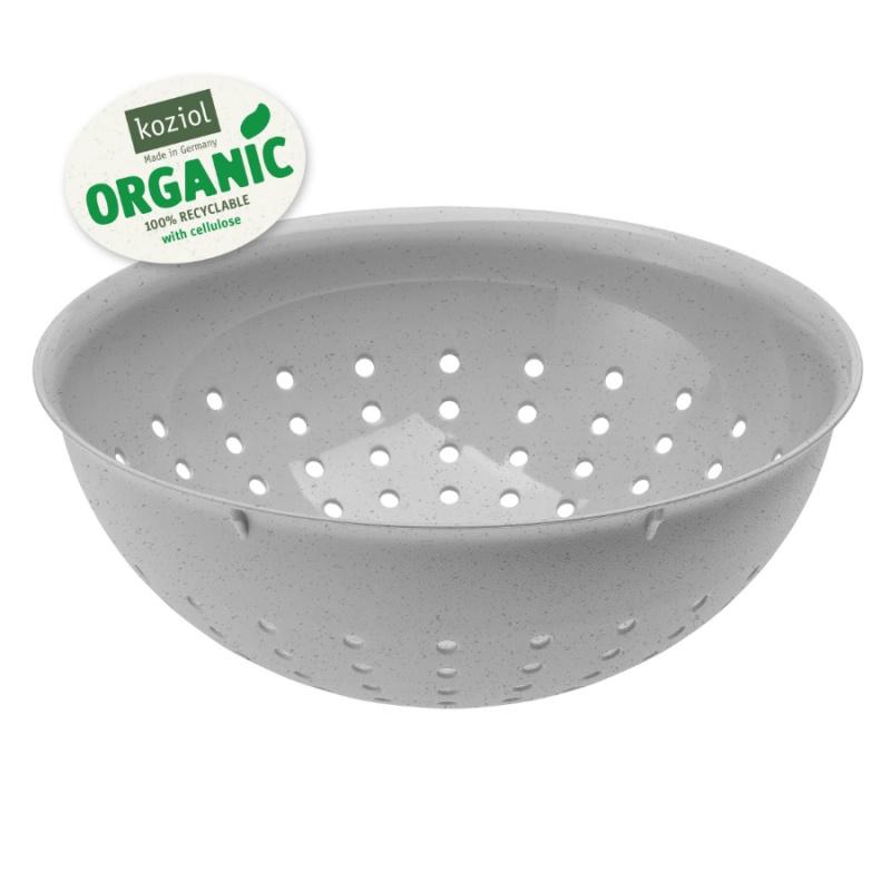 Дуршлаг Palsby organic 2 л серый