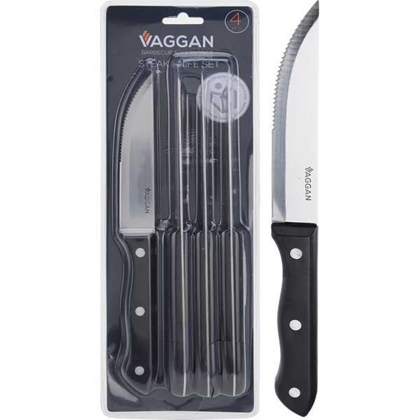 Набор из 4 ножей кухонных 25 см Vaggan