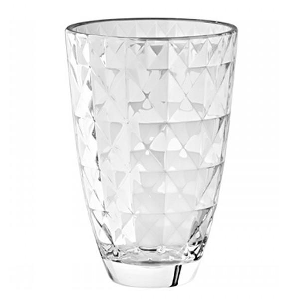 Ваза CARREОригинальная ваза итальянского  производителя Vidivi сделана из высококачественного стекла. Необычный дизайн и форма украсят любой интерьер. Она станет отличным подарком.<br>