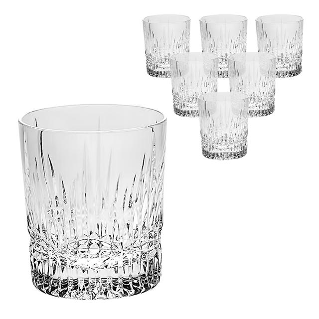 Набор стаканов д/виски 6шт 300 мл VIBES прозрачныйБогемский хрусталь или Bohemia Crystal Company существуют с 2006 года и осуществляют поставку и продажу предметов из стекольного чешского хрусталя. Набор Crystal Bohemia Vibes состоит из шести хрустальных стаканов для виски. Все изделия имеют прозрачную поверхность и восхитительный рельефный декор. Как и полагается настоящему хрусталю, все стаканы приятно блестят и издают мелодичный звон. Набор для виски Crystal Bohemia Vibes станет самым роскошным украшением Вашего кабинета или гостиной, а также подчеркнут Ваш статус в глазах гостей и приятелей. Кроме того, такой набор может быть прекрасным подарком.<br>