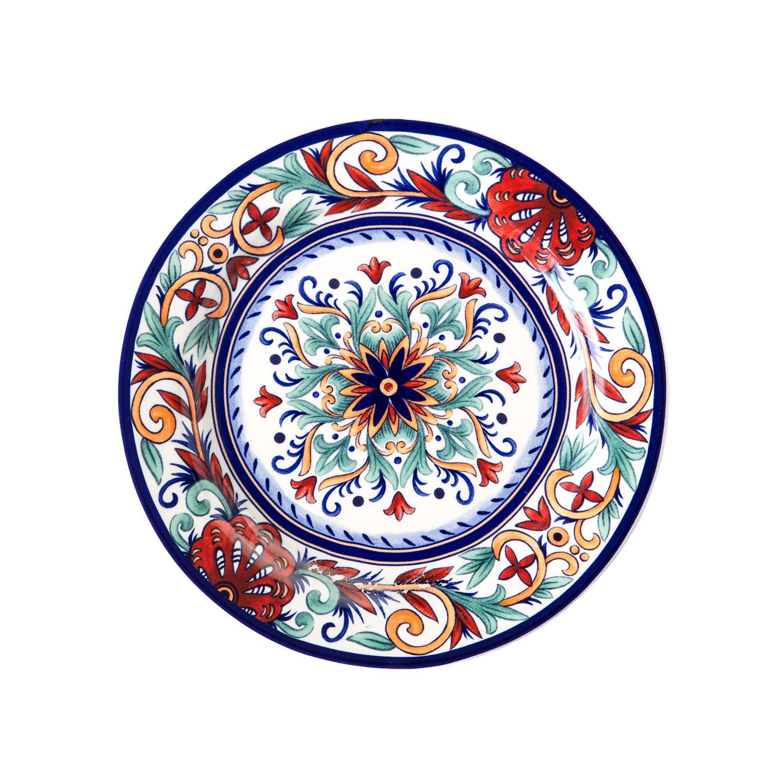 Набор обеденный 8 предметов ВизантияОбеденный набор от Magia Gusto украсит каждый стол и создаст неповторимый уют. Качественный, стильный и яркий, он станет вашим любимчиком.<br>