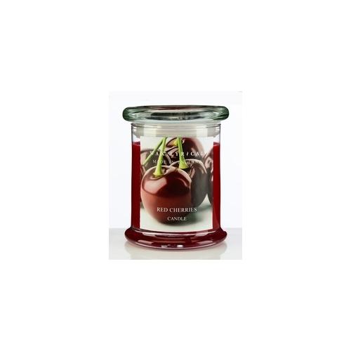 Свеча ароматическая в стекле Вишня большая 8х12х8 красныйСвеча ароматическая в стекле Вишня большая от английской компании Wax Lyrical.  Уникальное средство для устранения неприятного запаха. Благодаря технологии Odouraze , которая находит молекулы неприятного запаха, окутывает их и полностью уничтожает. Придаст воздуху Придаст воздуху насыщенный аромат спелой вишни.<br>
