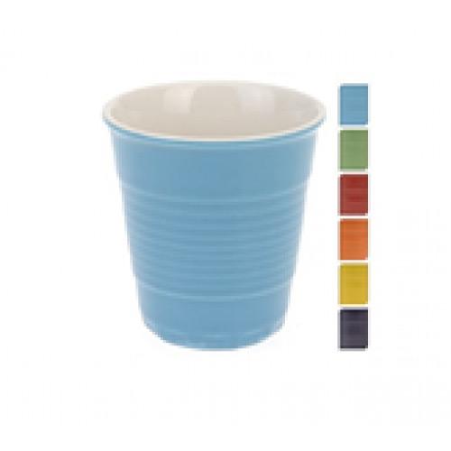 Стакан Excellent Houseware 140мл, в ассортиментеСтильные и оригинальные кружки в форме стаканчиков изготовлены и качественного фарфора. Сделают ваше чаепитие ярким и запоминающимся. Поднимут настрение вам и вашим гостям.<br>