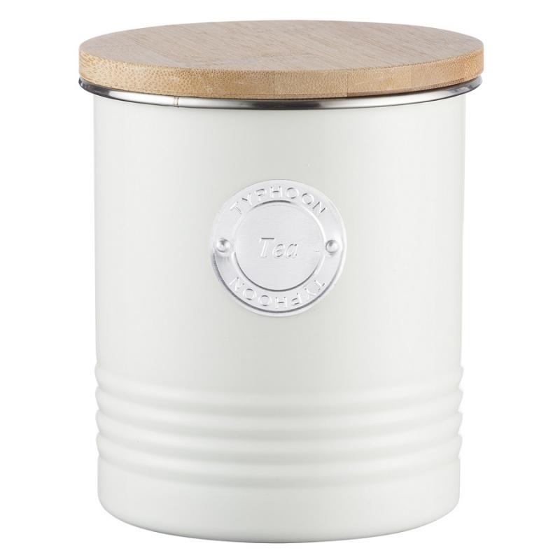 Емкость для хранения чая 1 л Typhoon Living кремовая фото