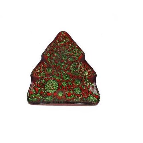 Тарелка Новогодняя ёлка 24 см Akcam