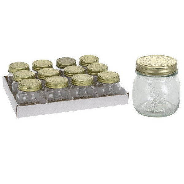 Банка д/хранения продуктов с крышкой 250 млБанка для хранения выполнена из прочного стекла с герметичной металлической крышкой. Прекрасно подойдет для консервации, а также для хранения специй, орехов и других сыпучих продуктов.<br>