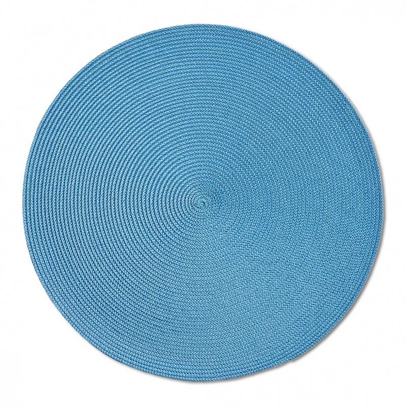 Салфетка сервировочная Zeller Twist 38 см синяя