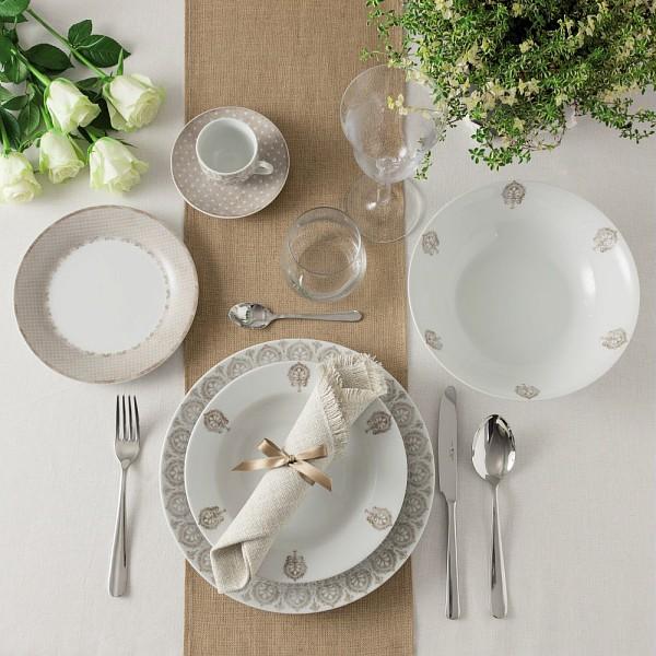 Набор чашек с блюдцами для завтрака OLIMPIA VINTAGETognana производит красивую и качественную посуду и аксессуары для дома и дачи, создает каждый предмет продуманно и с особой любовью. Данный набор чашек с блюдцами стильный, эргономичный, прекрасно выполняет свою функцию и украшает стол.<br>