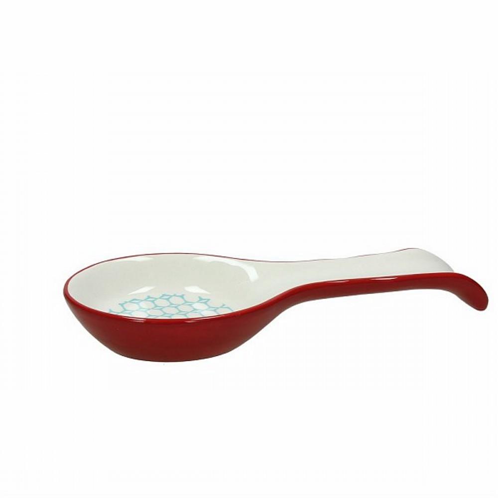 Подставка под ложку 24 см DOLCE CA KUB AZПодставка под ложку фирмы Tognana сделана из высококачественной керамики. Имея оригинальный дизайн и цветовую гамму, подставка отлично впишется в любой интерьер. Этот элемент посуды является неотъемлемым на любой кухне.<br>