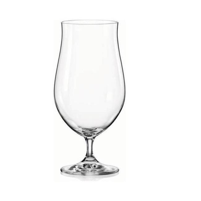 Набор бокалов для пива 4 шт 550 мл Bohemia Crystal Bar