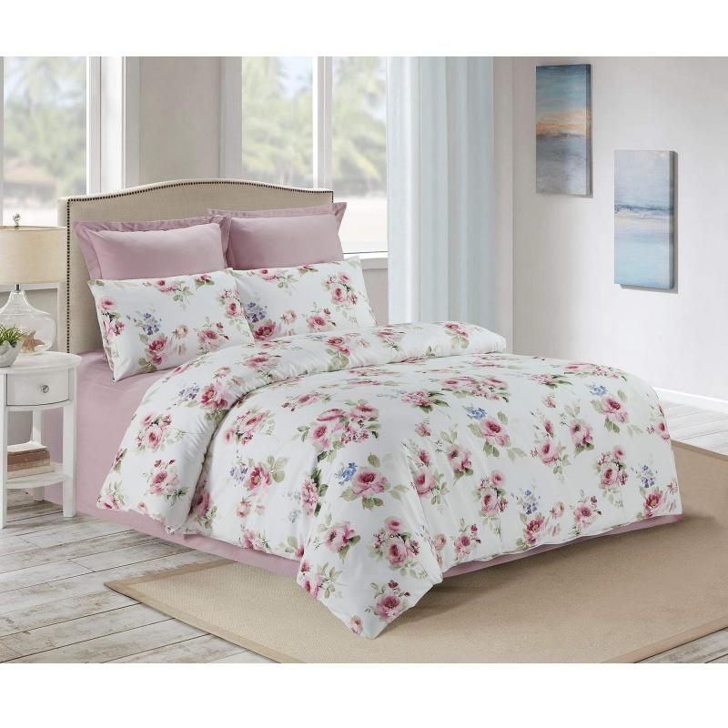 Постельное белье Sofi De Marko Алсу 160х220 см розовое