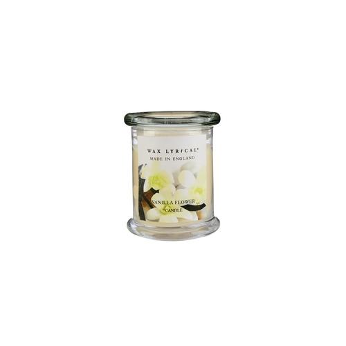 Свеча ароматическая в стекле Сливочная ваниль большая 8х12х8 белыйСвеча ароматическая в стекле Сливочная ваниль большая от английской компании Wax Lyrical.  Уникальное средство для устранения неприятного запаха. Благодаря технологии Odouraze , которая находит молекулы неприятного запаха, окутывает их и полностью уничтожает. Придаст воздуху  сладкий, манящий аромат ванили, миндаля и сливочной помадки.<br>
