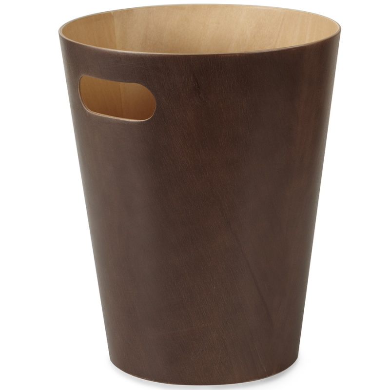 Корзина для мусора Umbra Woodrow эспрессо