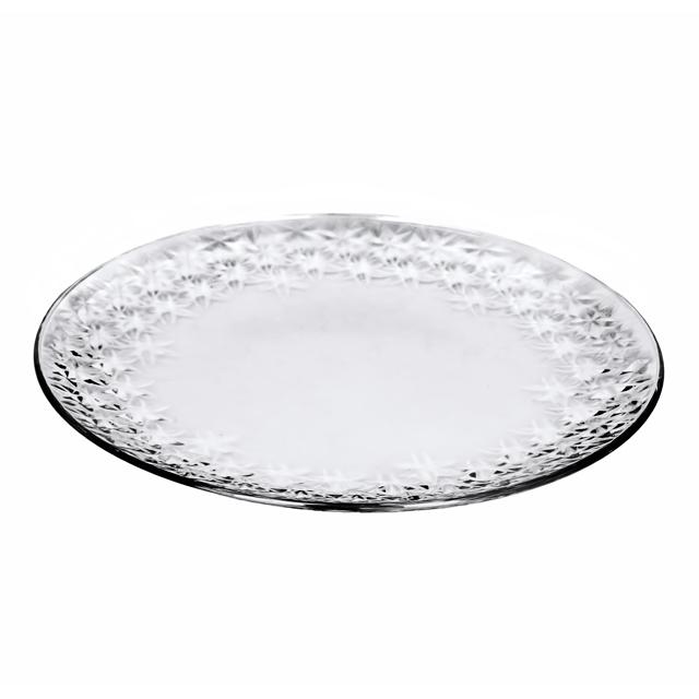 Тарелка GALASSIA 35 смИтальянская мануфактура Vidivi является производителем с мировым именем по производству стеклянных изделий и высококачественной посуды. Внимание к каждой детали и инновации, в сочетании с непревзойдённым итальянским дизайном делают этот бренд уникальным. Тарелки из коллекции GLASSIA хорошо подойдут как для спокойного семейного ужина, так и для ресторанной сервировки. Изысканное оформление тарелок, блеск стекла и удобная форма станут лучшими украшениями Вашего стола. Это маленькая роскошь, доступная каждому, позволит усовершенствовать Ваш стиль жизни, а также представит Вас в необычайно хорошем свете.<br>
