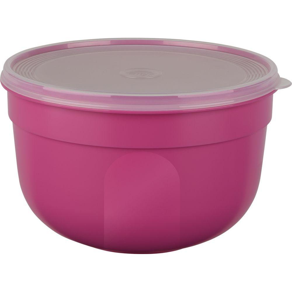 Контейнер SUPERLINE круглый 0,6 л розовыйКонтейнер SUPERLINE круглый 0,6 л розовый<br>