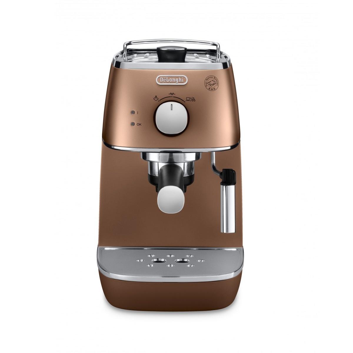 Кофеварка рожковая ECI341.CPDeLonghi — крупнейший производитель бытовой техники. Кофеварка - это прекрасный электрический прибор для всех любителей кофе. Необычный дизайн данного прибора делает его превосходным симпатичным помощником.<br>