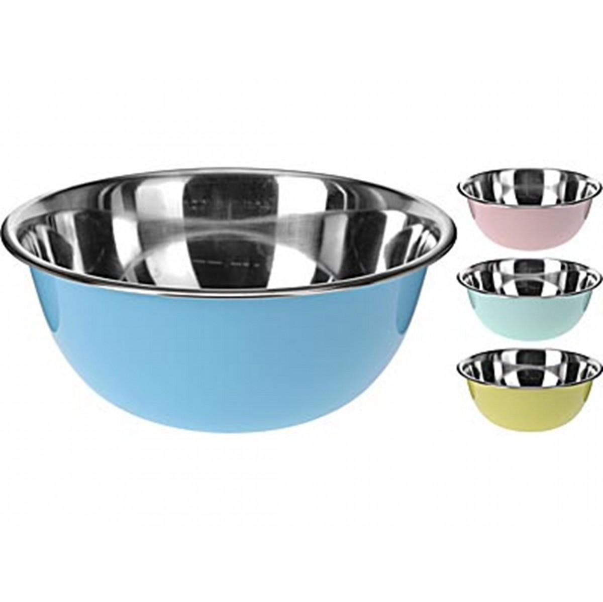 Миска для смешивания продуктовExcellent Houseware производит посуду и различные предметы для дома. Миска - отличный помощник на кухне. В ней удобно смешивать продукты, а также прямо в ней можно подавать на стол, например, салаты. Внимание! Выбрать цвет заранее не представляется возможным.<br>