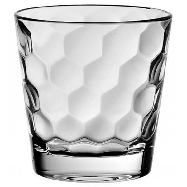 Стакан для воды 370 мл. HONEYОригинальный стакан итальянского  производителя Vidivi сделан из высококачественного стекла. Необычный дизайн и форма украсят любой интерьер. Он станет отлично впишется в уже имеющуюся коллекцию вашей посуды или станет хорошим подарком для ваших друзей и близких. Стакан подходит для любых напитков.<br>
