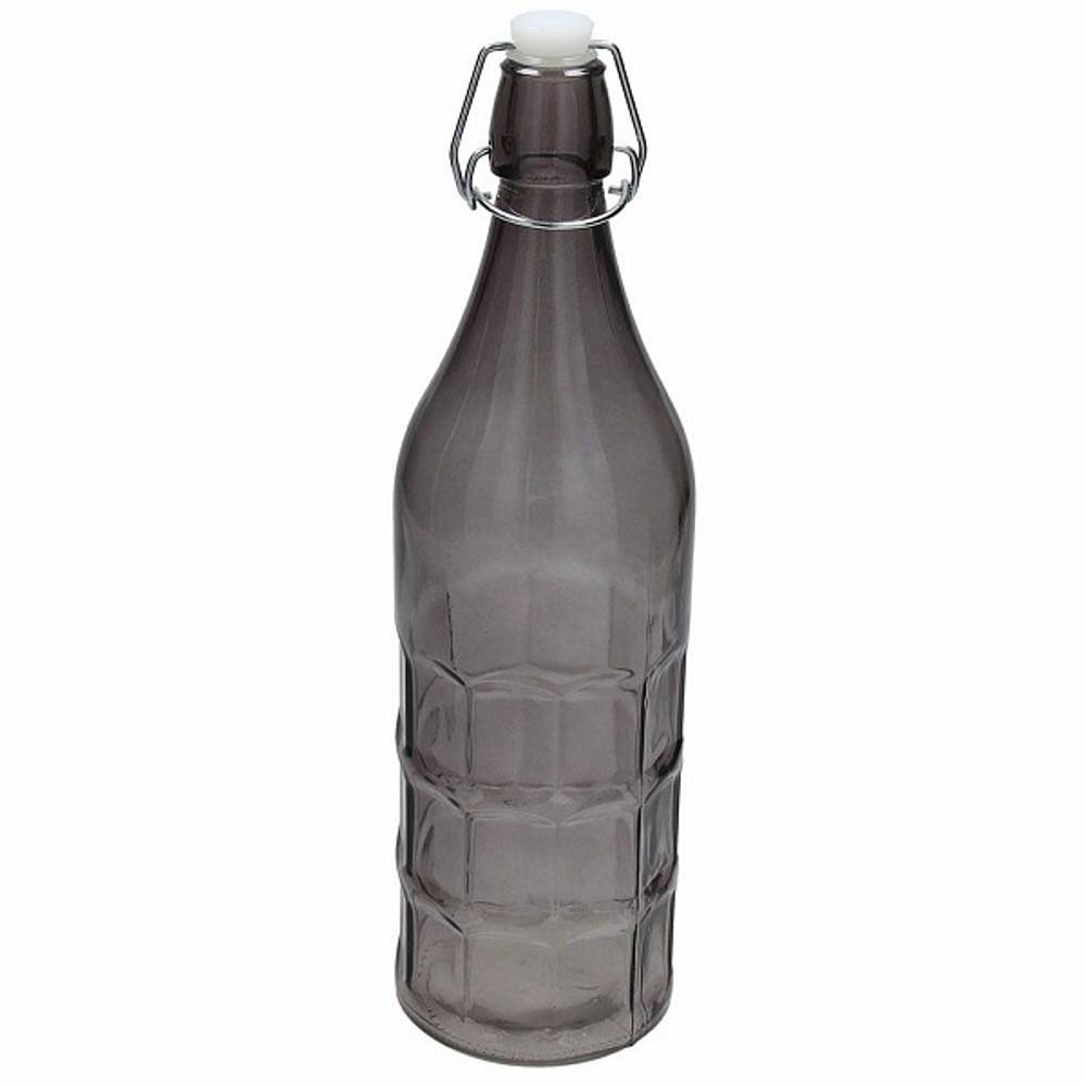 Бутылка 1,1 л FRIZZYБутылка фирмы Tognana отлично подойдет для декорирования вашего интерьера или праздничного стола. Ее можно использовать для вина, оливкого масла. Внесите яркий акцент в ваш дом.<br>