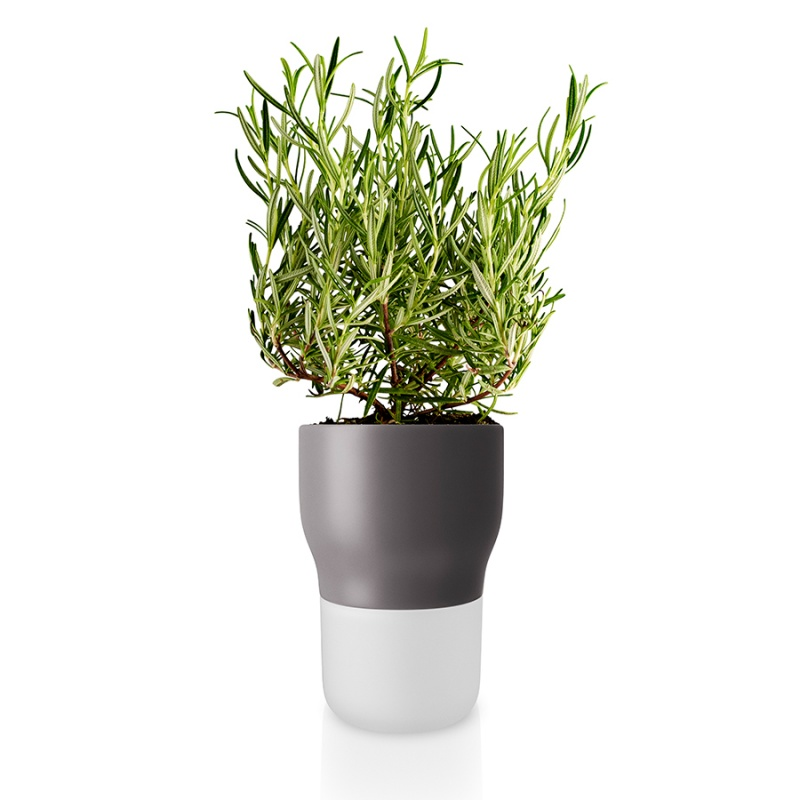Горшок для растений с функцией самополива Eva Solo 11 см серый