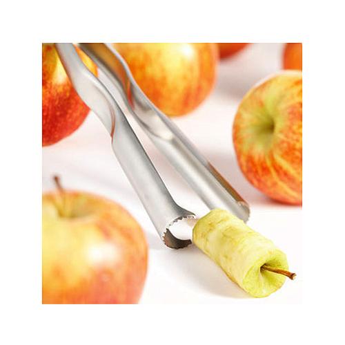 Нож для яблок 1 металлическийНож для яблок металлический предназначен для быстрого отделения сердцевины яблока. Это очень удобно при запекании яблок. Благодаря эргономичному дизайну, нож прекрасно лежит в руке, не скользит.<br>