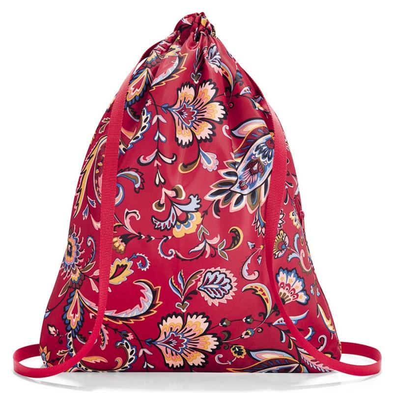 Рюкзак складной Reisenthel Mini maxi Sacpack paisley ruby фото
