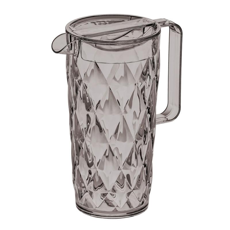 Кувшин Crystal 1,6 л серый