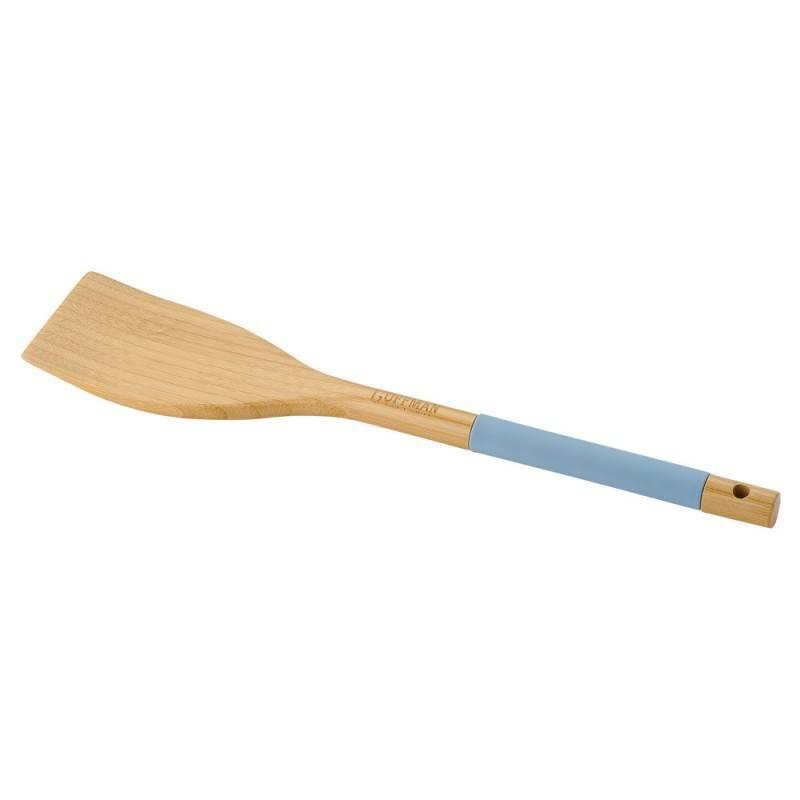 Лопатка кулинарная Guffman бамбук голубая