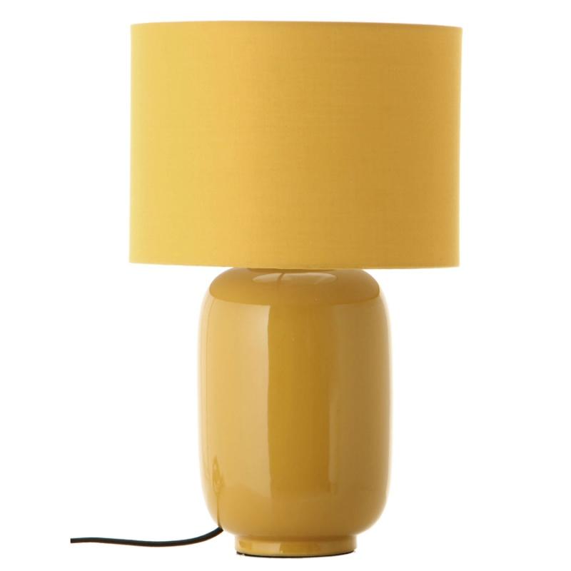 Лампа настольная Frandsen Cadiz миндальная