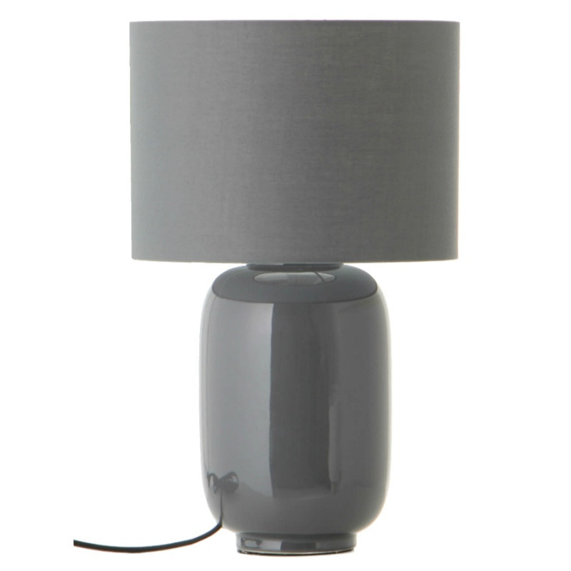 Лампа настольная Frandsen Cadiz серая