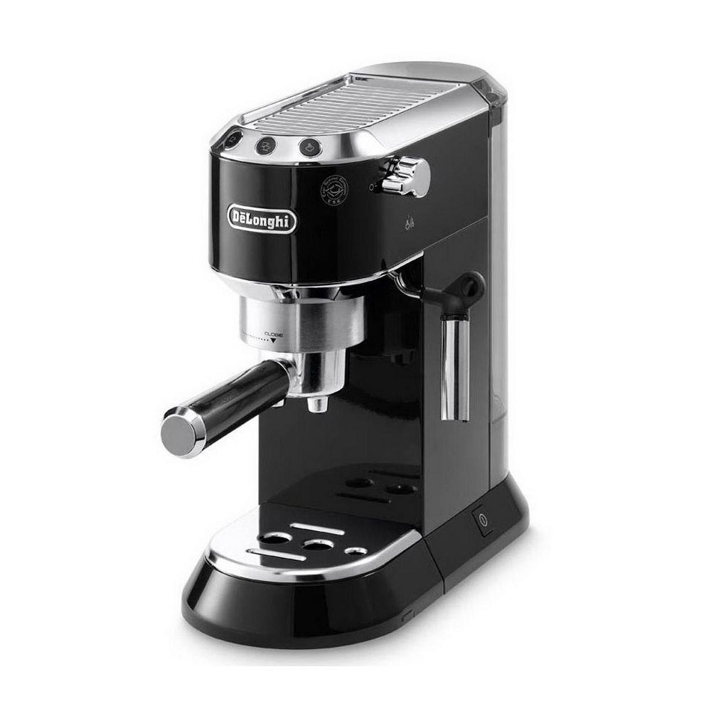 Кофеварка рожковая EC 680 BK черная delonghi dedica ec 680 red рожковая кофеварка