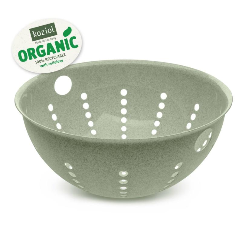 Дуршлаг Palsby organic 5 л зелёный