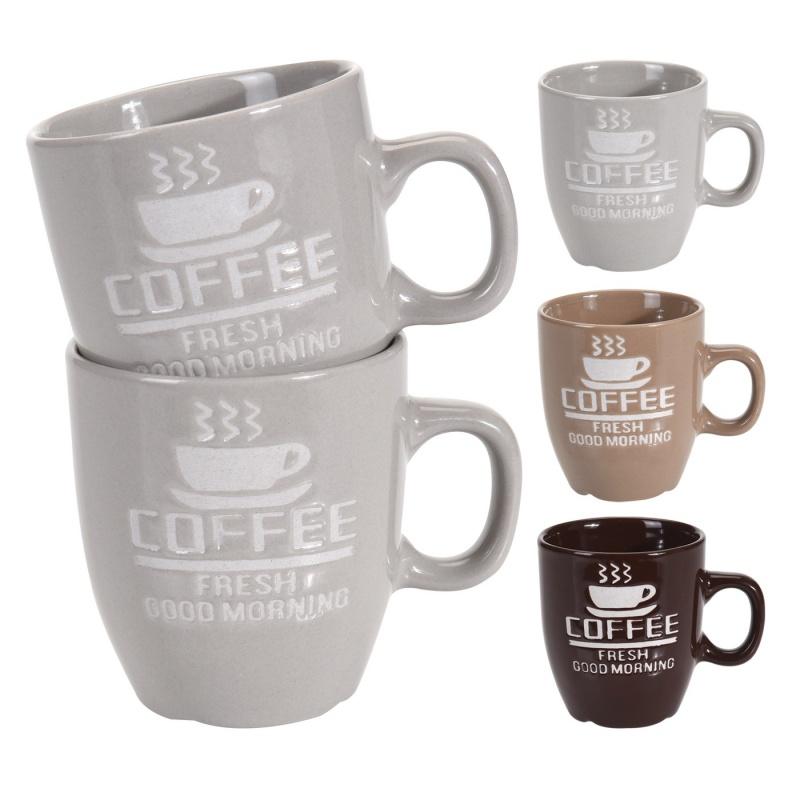 """Набор кружек 2 шт. 150 мл Excellent Houseware """",Coffee"""", в ассортименте"""