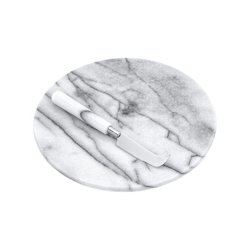 Judge MarbleДоска с ножом для нарезки сыра, 26 см