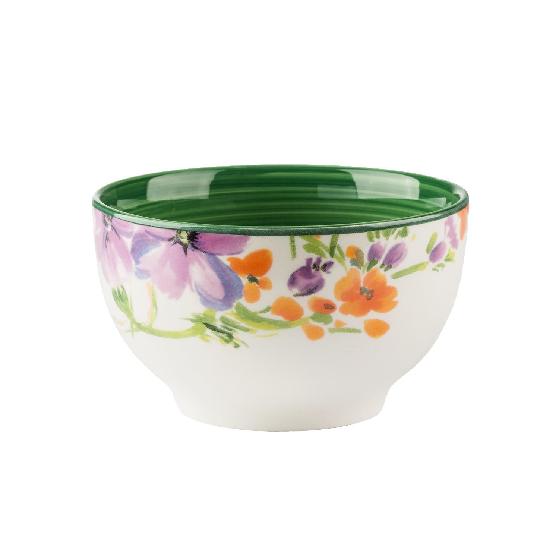Набор пиал 4 шт Полевые цветыНабор пиал от Magia Gusto украсит каждый стол и создаст неповторимый уют. Качественный, стильный и яркий, он станет вашим любимчиком.<br>