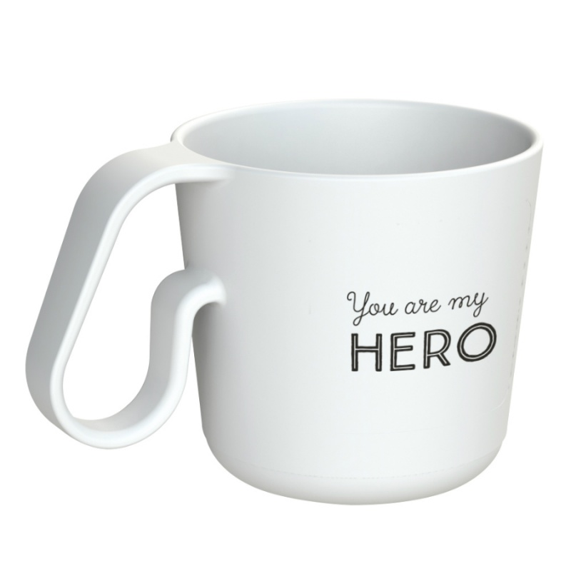 Кружка Maxx You Are My Hero 350 мл белая