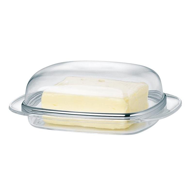 Масленка прозрачная/хром SUPERLINEМасленка SUPERLINE от Emsa - это образец простоты, стиля и качества.<br>