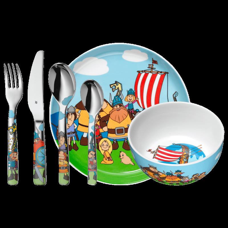 """Набор детской посуды 6 предметов """",Wickie"""", WMF"""