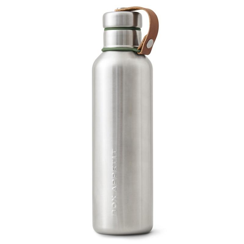 Фляга 750 мл Black+Blum Water Bottle оливковая.