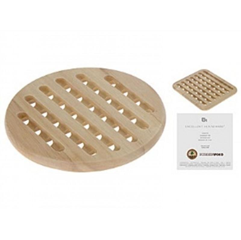 Подставка под горячееExcellent Houseware производит посуду и различные предметы для кухни и дома. Подставка под горячее - это замечательный помощник, поскольку она защищает поверхность от повреждений и высоких температур, а также создает уют.<br>