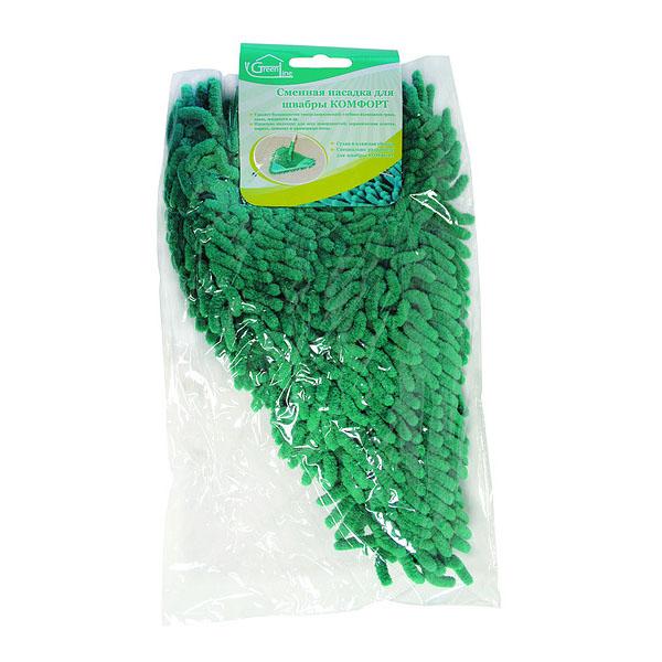 НАСАДКА К ШВАБРЕ КОМФОРТКомпания Inter-Vion появилась на рынке в 1991 году. Сейчас она является одним из крупнейших предприятий по изготовлению косметической продукции и товаров для дома. Насадка для швабры Комфорт GREEN LINE легко удаляет загрязнения. Благодаря треугольной форме легко очищает пол в углах комнаты. Это очень полезная вещь в доме. Хорошо подходит для сухой и влажной уборки. Имеет красивый дизайн. После использования ее достаточно промыть водой и высушить.<br>