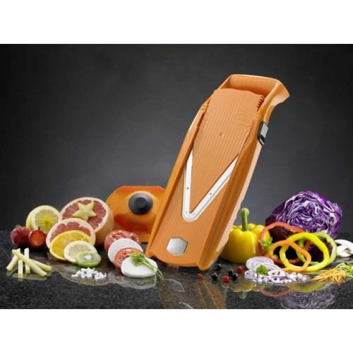 Овощерезка комплект ПРИМА ПЛЮС (5 предметов) оранжеваяОвощерезка станет отличным помощником на вашей кухне. Благодаря своему составу из высококачественных материалов ваши блюда приобретут невероятный вкус.<br>
