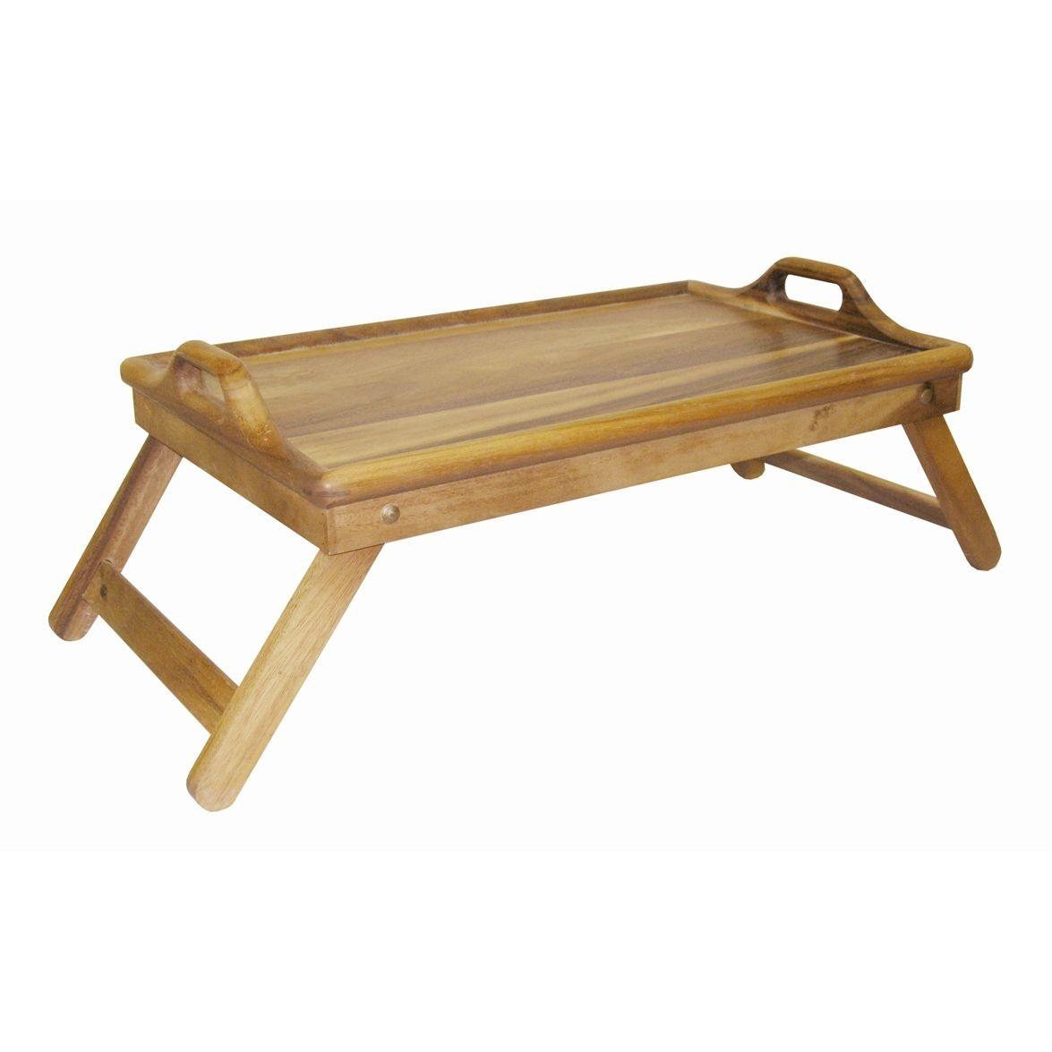 Столик для завтрака тонированныйБренд Oriental Way уже более 15 лет создает стильную и высококачественную посуду из натуральной тропической древесины и бамбука. Стол для завтрака станет Вашим лучшим другом по утрам. С помощью такого аксессуара Вы сможете позавтракать прямо не вылезая из теплой кровати. Если вам захочется удивить свою вторую половинку, то для создания романтической атмосферы такой стол подойдет лучшего всего. Деревянное изделие не впитывает влагу и запахи, а также имеет долгий срок службы, по сравнению с другими материалами. Стол для завтрака может быть отличным подарком.<br>