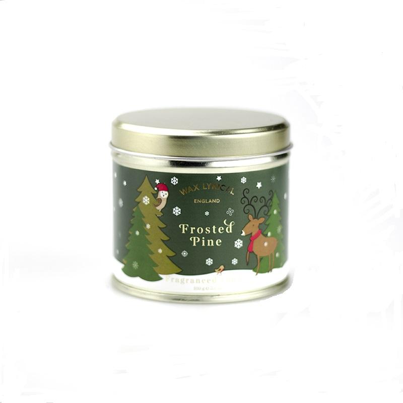 Свеча ароматическая в банке Новогодняя ель<br>
