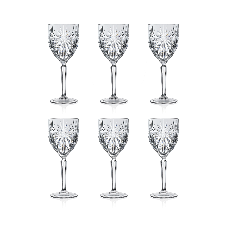 Набор бокалов для белого вина 230 мл. 6 шт. OASISНабор бокалов для белого винаОазис колорс создаст настоящее настроение праздника и дружескую атмосферу во время любого торжества. Набор из шести предметов представляет собой необычное сочетание единого дизайна и разных цветов оформления. Комплект несет также и практичную функцию – ваши гости никогда не перепутают свой бокал с чужим, легко запомнив его цвет. Изделия выполнены из прочного и высококачественного стекла, которое не содержит свинец и другие токсичные вещества. Набор бокалов для белого винаОазис колорс станет лучшим выбором для использования на домашней вечеринке или для кафе или баров.<br>