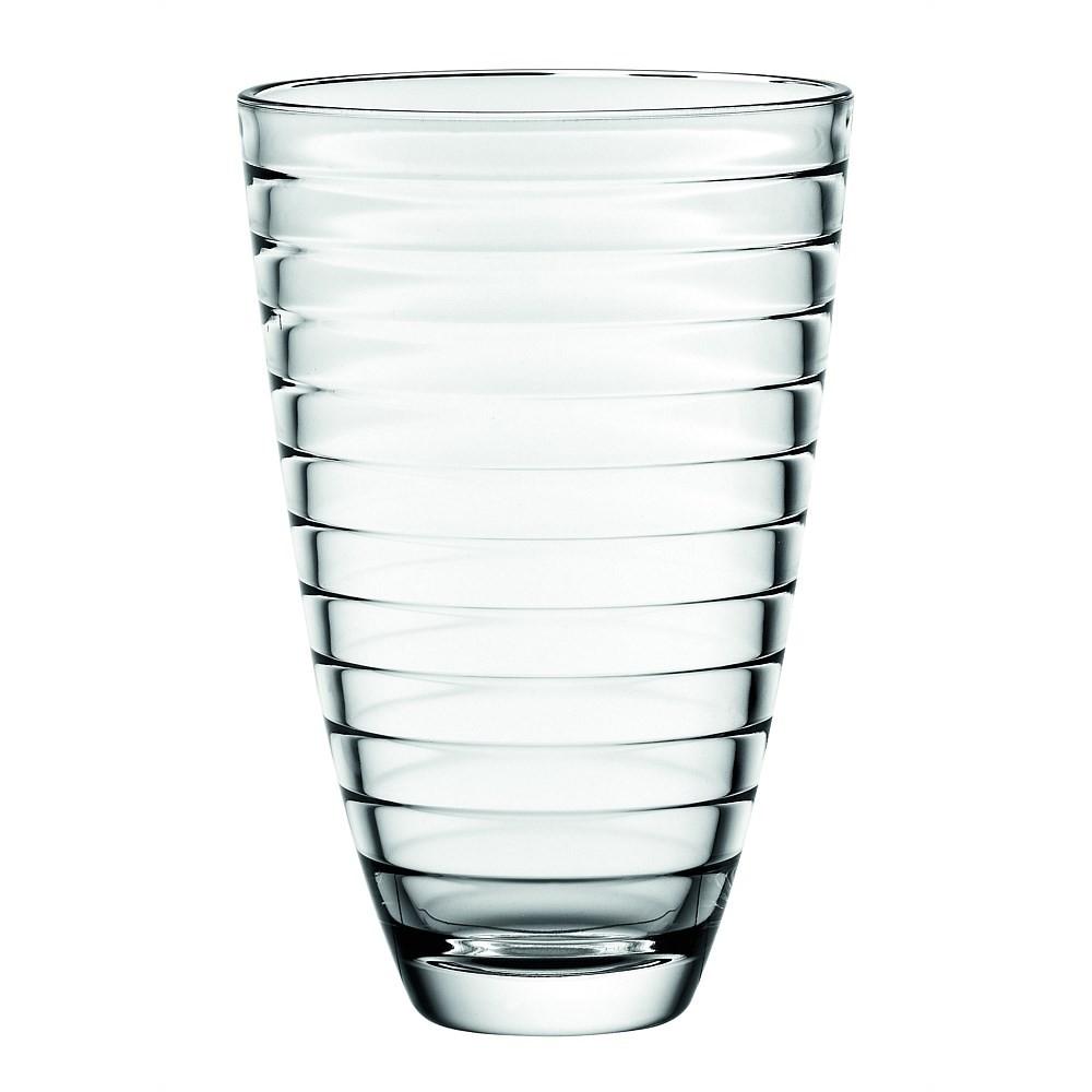 Ваза BAGUETTEОригинальная ваза итальянского  производителя Vidivi сделана из высококачественного стекла. Необычный дизайн и форма украсят любой интерьер. Она станет отличным подарком.<br>
