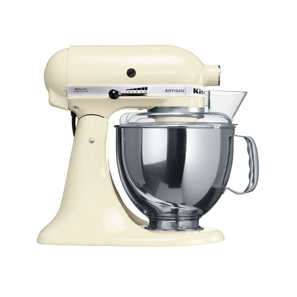 Миксер планетарный с чашей полупроф. Kitchen Aid 4,83 л кремовый
